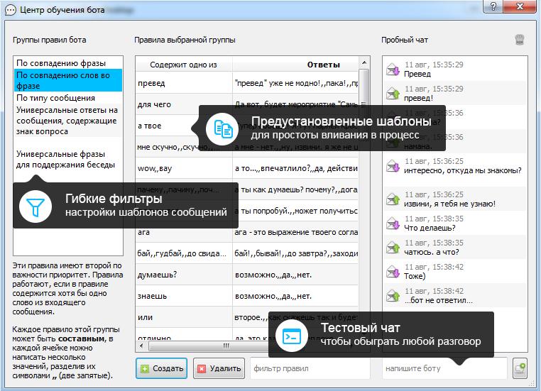Чат-боты для бизнеса в Telegram и Facebook. Тестовый чат-бот бесплатно. От 3 до 7 дней.